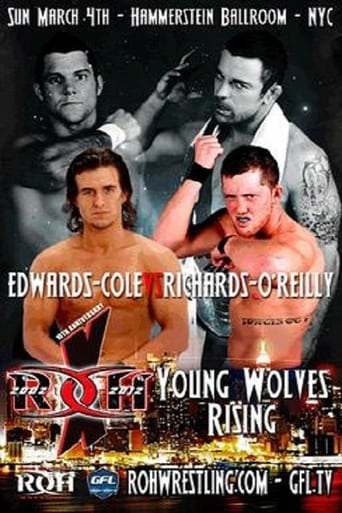 Poster of ROH 10th Anniversary Show: Young Wolves Rising