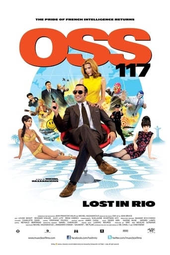 Poster of OSS 117: Lost in Rio