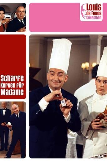 Filmplakat von Scharfe Kurven für Madame