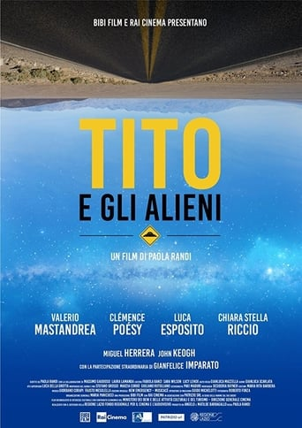 Little Tito and the Aliens poster