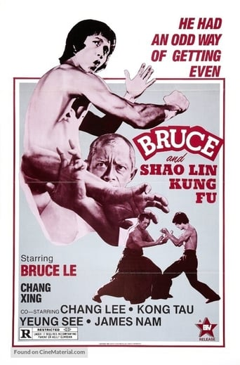 Poster of Bruce and Shaolin Kung Fu