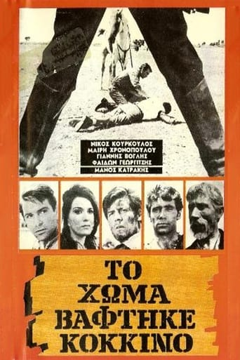 Poster of Blood on the Land