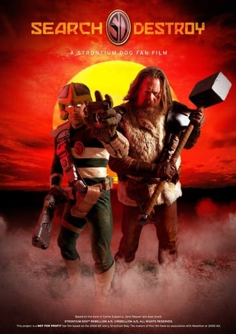 Poster of Search/Destroy: A Strontium Dog Fan Film