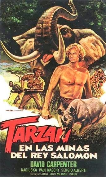 Poster of Tarzan in King Solomon's Mines