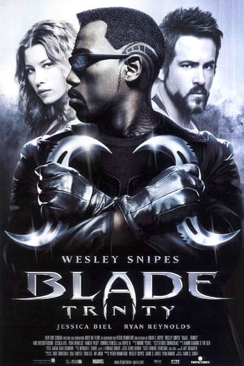 Poster of Blade Trinity