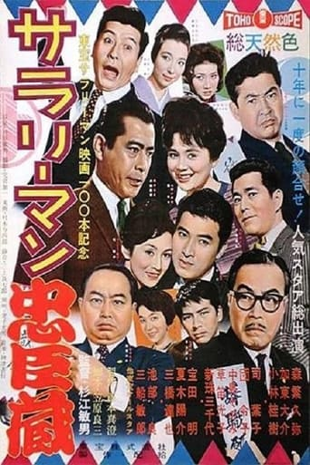 Poster of Salaryman Chushingura