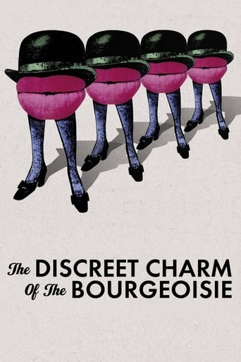 Poster of The Discreet Charm of the Bourgeoisie