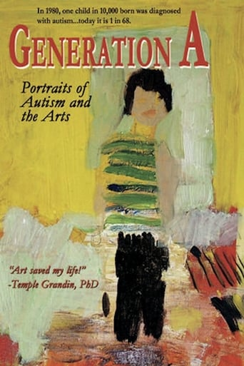 Poster of Generation A: Portraits of Autism and the Arts