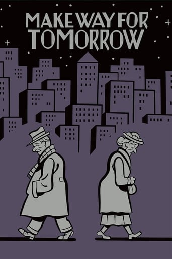 Poster of Make Way for Tomorrow