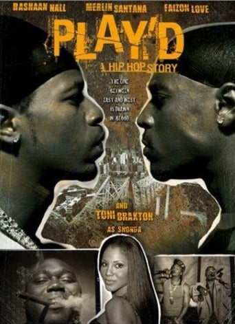 Poster of Play'd: A Hip Hop Story