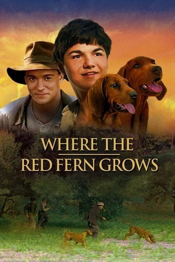 Poster of Where the Red Fern Grows