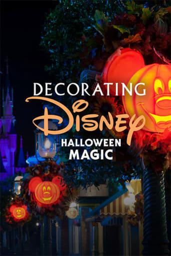 Poster of Decorating Disney: Halloween Magic