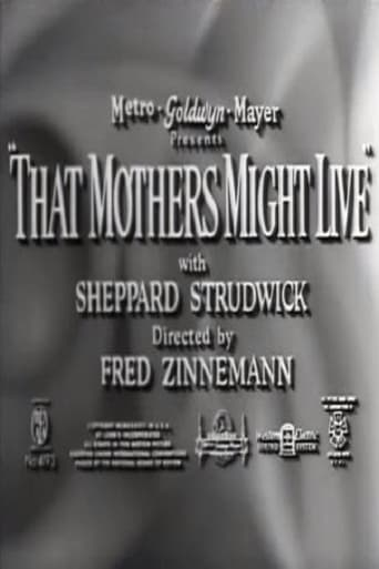 Poster of That Mothers Might Live