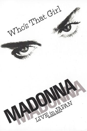 Poster of Madonna: Who's That Girl - Live in Japan