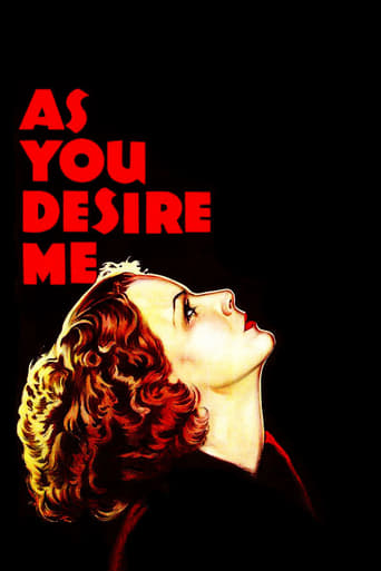 Poster of As You Desire Me