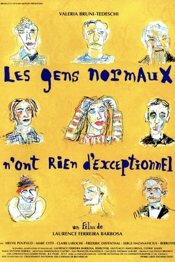 Poster of Normal People Are Nothing Exceptional