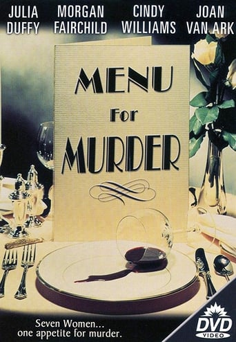 Poster of Menu for Murder
