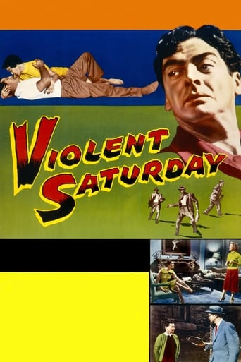 Poster of Violent Saturday