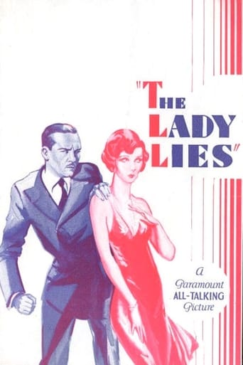 Poster of The Lady Lies