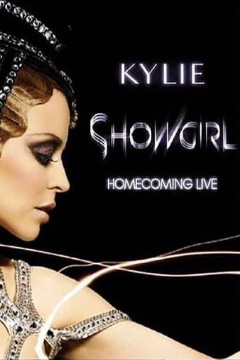 Poster of Kylie Minogue: Showgirl Homecoming