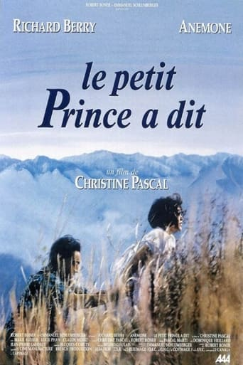 Poster of And the Little Prince Said