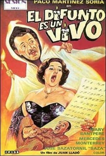 Poster of El difunto es un vivo