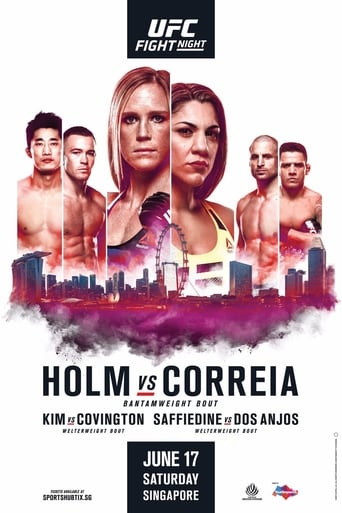 Poster of UFC Fight Night 111: Holm vs. Correia