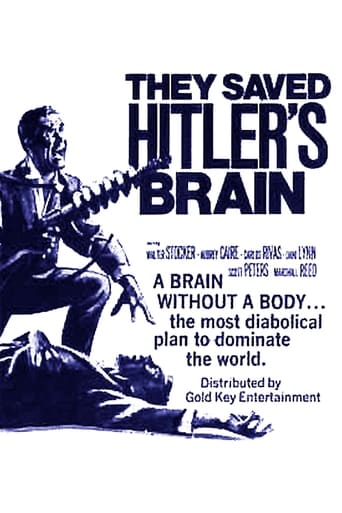 Poster of They Saved Hitler's Brain