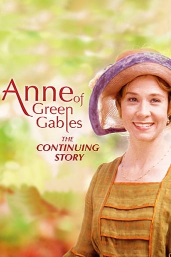 Poster of Anne of Green Gables: The Continuing Story