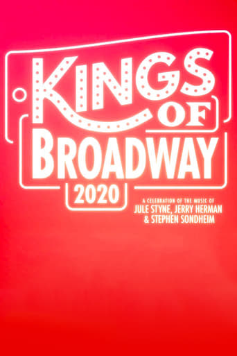 Poster of Kings of Broadway 2020: A Celebration of the Music of Jule Styne, Jerry Herman, and Stephen Sondheim
