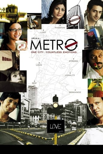 Poster of Life in a Metro