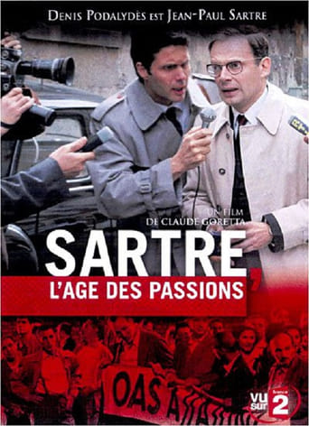 Poster of Sartre, Years of Passion