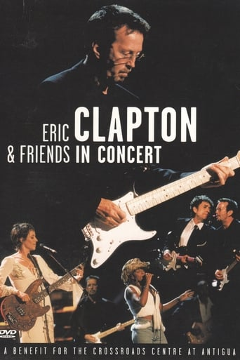 Poster of Eric Clapton & Friends in Concert: A Benefit for the Crossroads Centre at Antigua