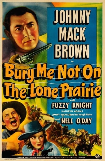 Poster of Bury Me Not on the Lone Prairie