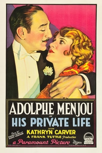 Poster of His Private Life