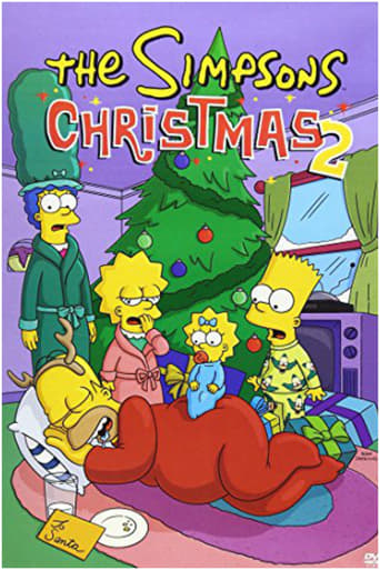 Poster of The Simpsons Christmas 2