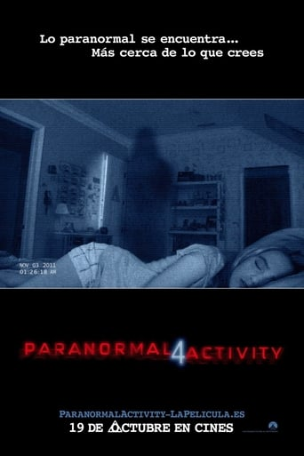 Poster of Paranormal Activity 4