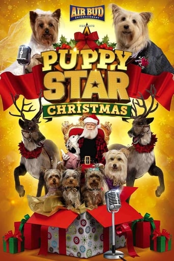 Poster of Puppy Star Christmas