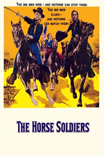 Poster of The Horse Soldiers