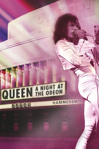 Poster of Queen: A Night at the Odeon