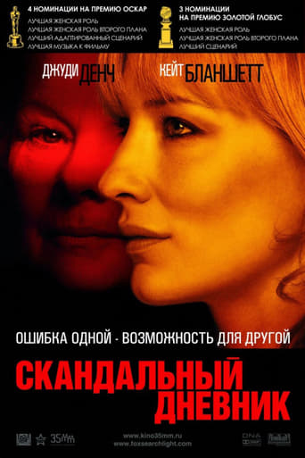 Poster of Скандальный дневник