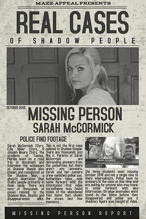 watch Real Cases of Shadow People: The Sarah McCormick Story full movie online stream free HD