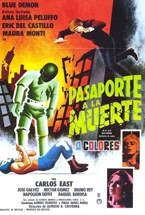 Largescale poster for Pasaporte a la muerte