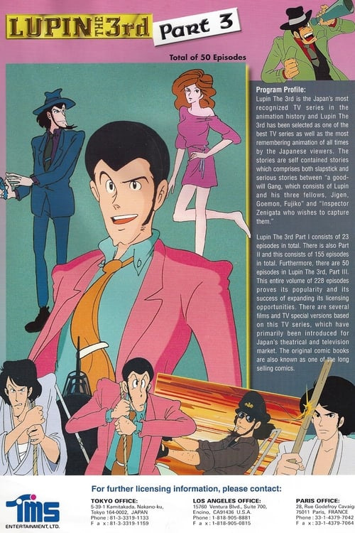 Lupin the Third - Part III