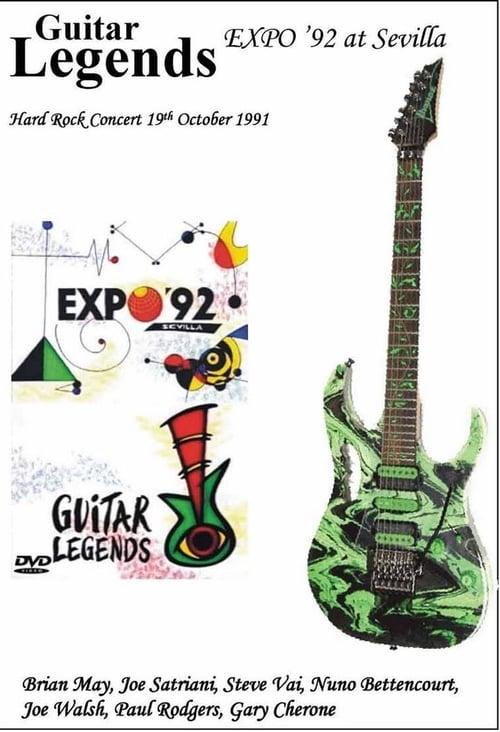 Guitar Legends EXPO '92 at Sevilla - The Hard Rock Night