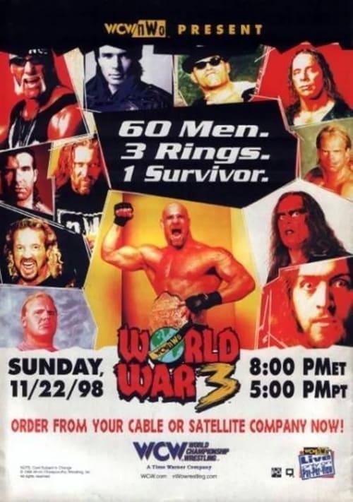 WCW World War 3 1998