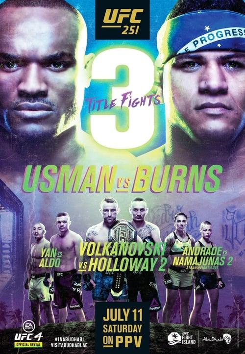 UFC 251: Usman vs. Burns