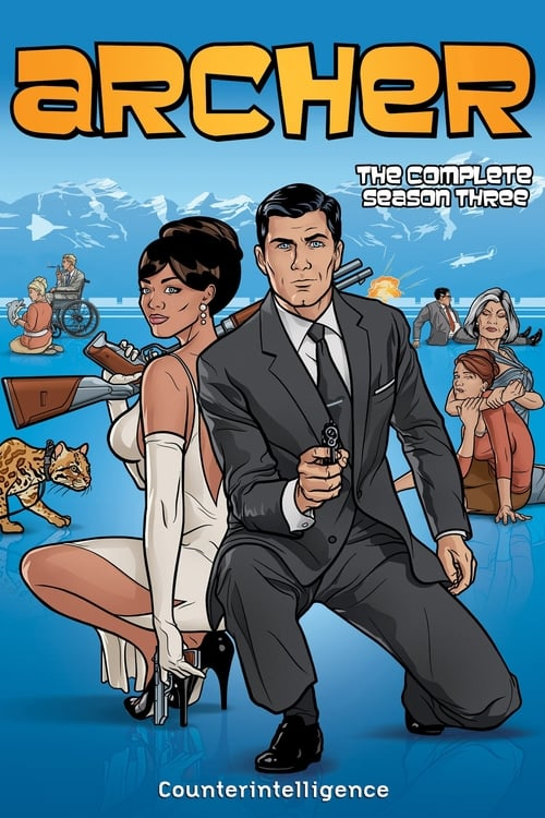 Watch Archer Season 3 in English Online Free
