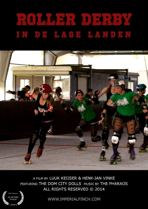 ROLLER DERBY IN THE LOW COUNTRIES
