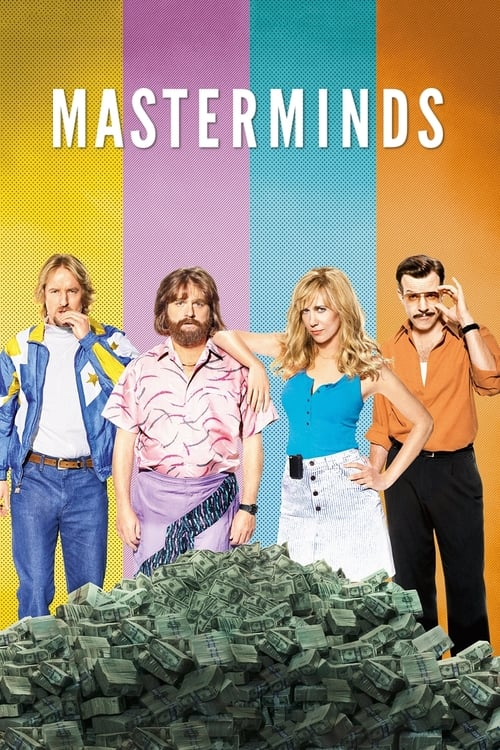 Watch Masterminds (2016) in English Online Free